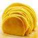 Profile of a pancake sunrise.