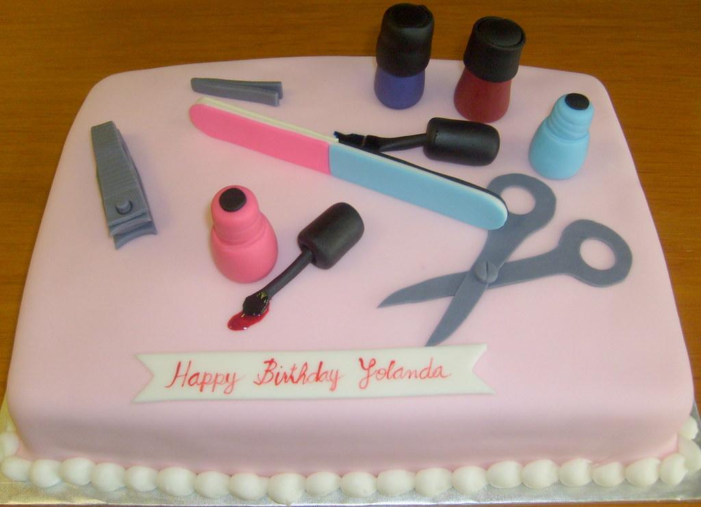 3d Cake Nail Art : nails-beauty-cake nails-beauty-cake DPasteles Cake ...
