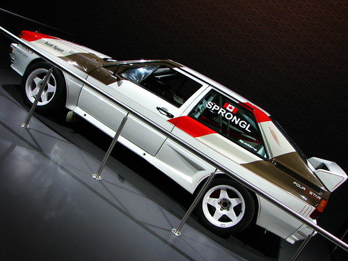 Audi Quattro Coupe Gt Rally Car Michael Flickr