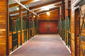 Stanford University Equine Center Horse Barn And Trustep A