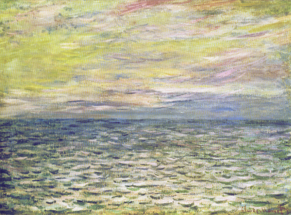 W 771 - Claude Monet: Coucher de soleil à Pourville, plein… | Flickr
