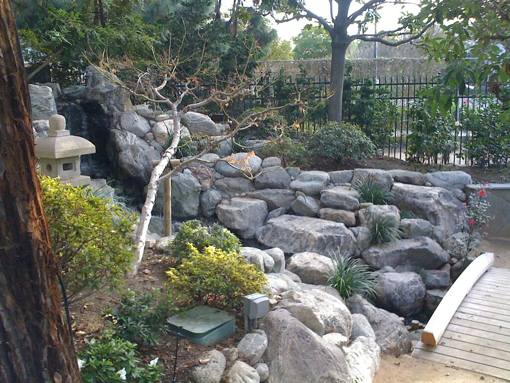 james irvine japanese garden seiryu en or garden of the clear stream - James Irvine Japanese Garden