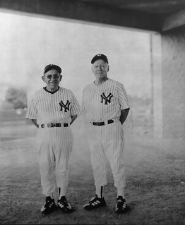 Yogi Berra and Whitey Ford, Spring Training, Tampa Bay, FL 2001 | by cliff1066™