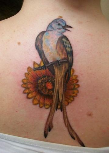 Scissortail Tattoo | Scissortail Flycatcher and Indian ...
