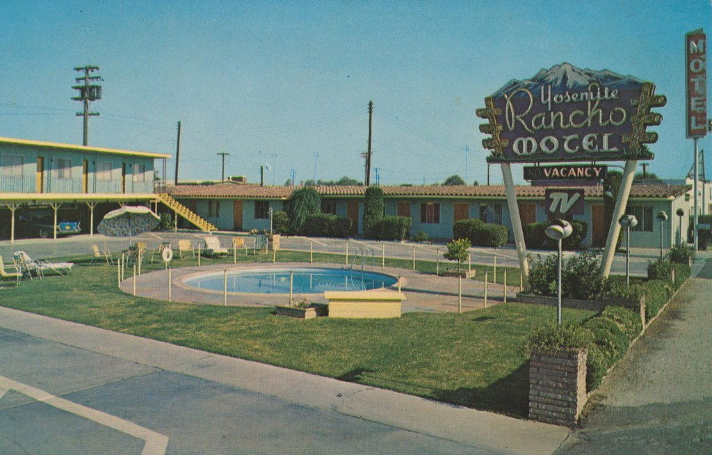 Yosemite Rancho Motel - Fresno, California