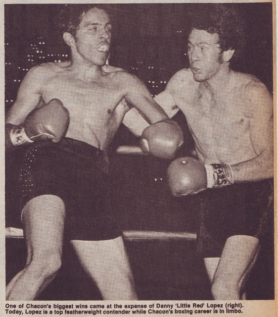 "Bobby Chacon vs Danny ""Little Red"" Lopez"
