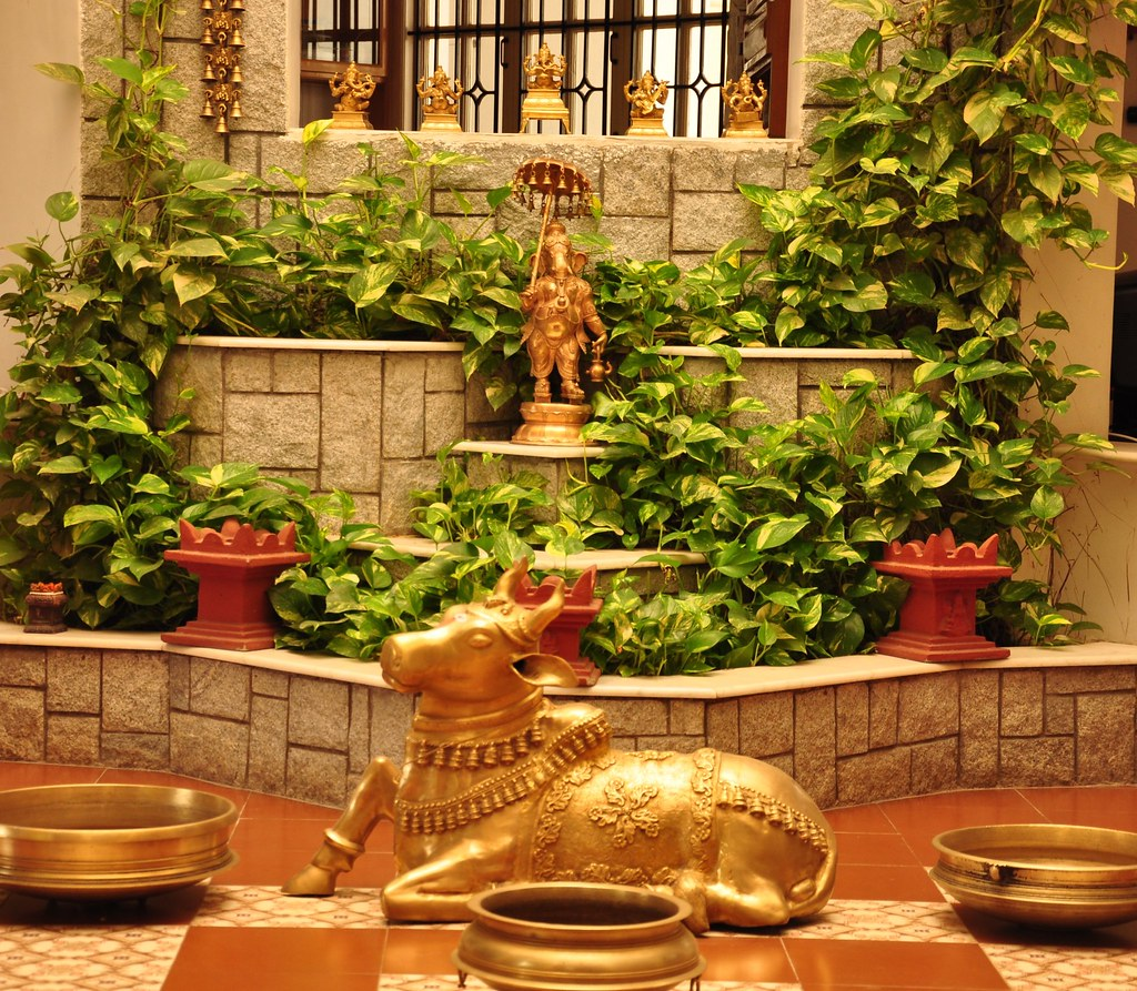 Around the courtyard this was taken at my mom 39 s home for Home decorating ideas indian style