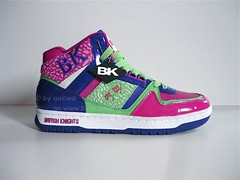 UNWORN 80`S / 90`S VINTAGE BRITISH KNIGHTS (BK) BASKETBALL HI SHOES | by aucwd