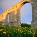 """The old Larnaca Aqueduct (no """"aqua"""" though)"""