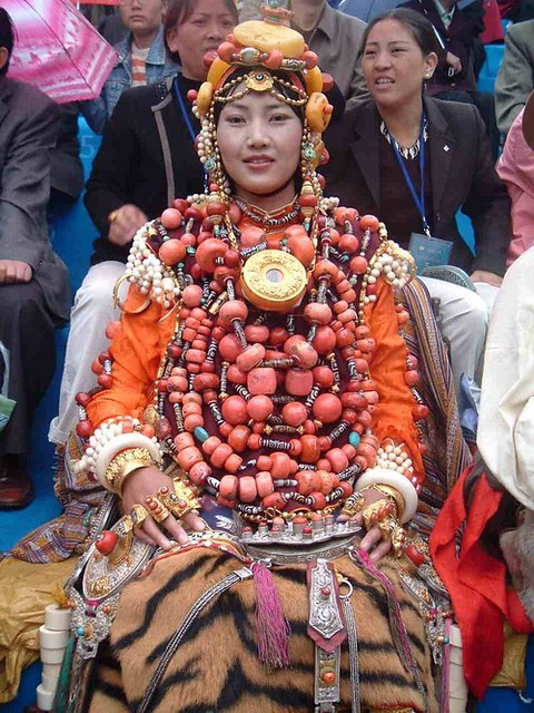 Very Bejewelled Khampa Girl 1 Of 2 Another Costume