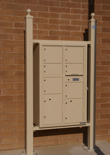 Auth florence vario express mail station with 4c mailboxes for Auth florence