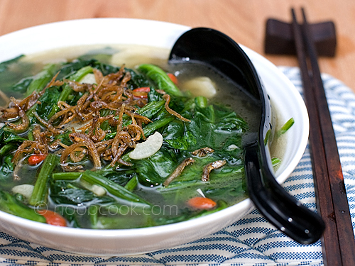 Spinach in Superior Broth | by wiffygal