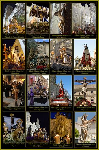 Collage Semana Santa Para Verlas Por Separado Y En