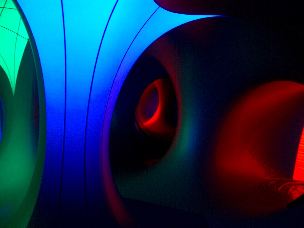 Natural Light Filtered Through Curtains