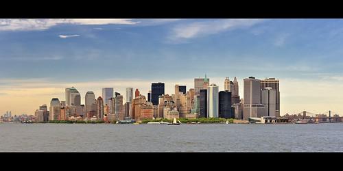 Lower Manhattan Skyline from the Staten Island Ferry, New York City | by andrew c mace