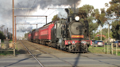 Steam train at Pakenham | by smjbk