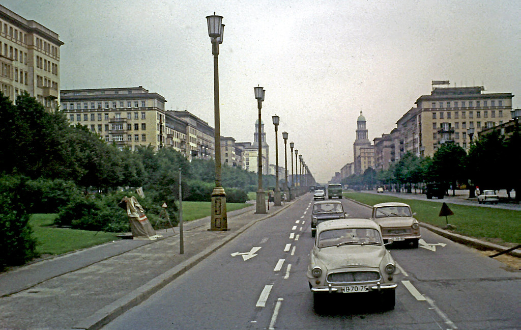 Karl Marx Allee Where There Had Been Ruins Of A An Area