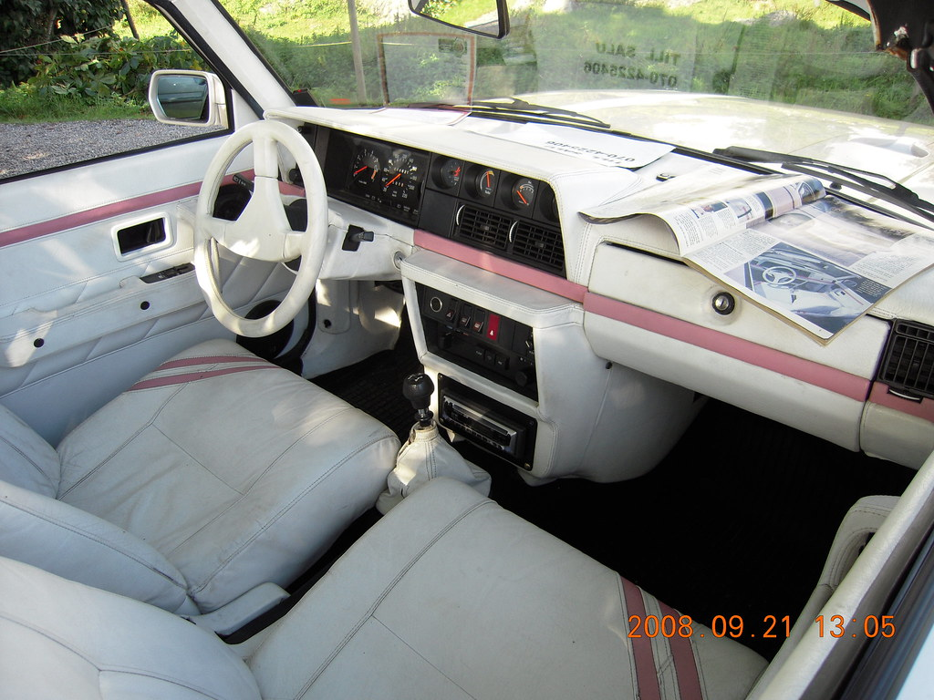 Custom volvo 240 cab interior   From the 80s.   stefanruf3   Flickr