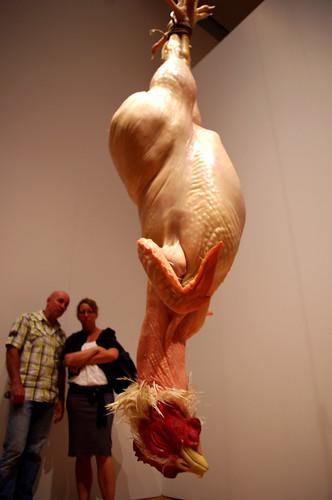 Ron Mueck Chicken
