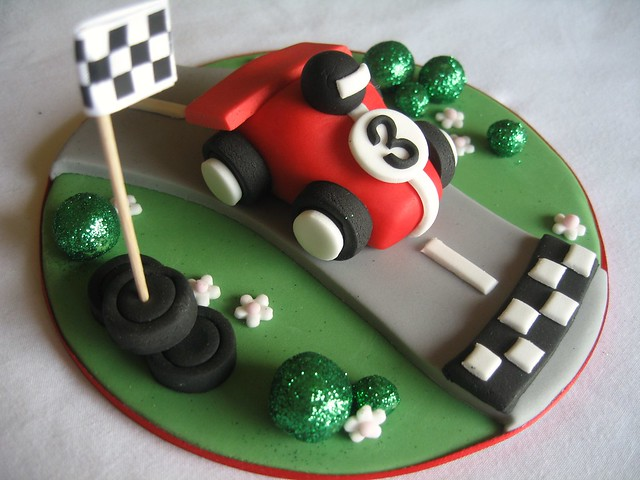 Cake Decorations Racing Cars : Flickr - Photo Sharing!