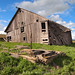 Palouse Barn, Leaning In