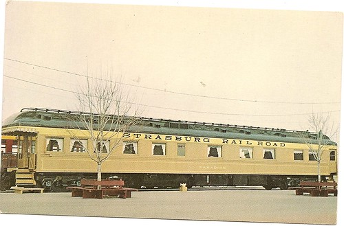 Vintage Paradise Car Rail Train Postcard | by itsallgroovy1