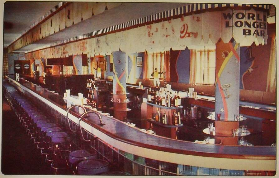 New Jersey >> 1950s OSPREY HOTEL Manasquan Beach NEW JERSEY Interior Vin… | Flickr