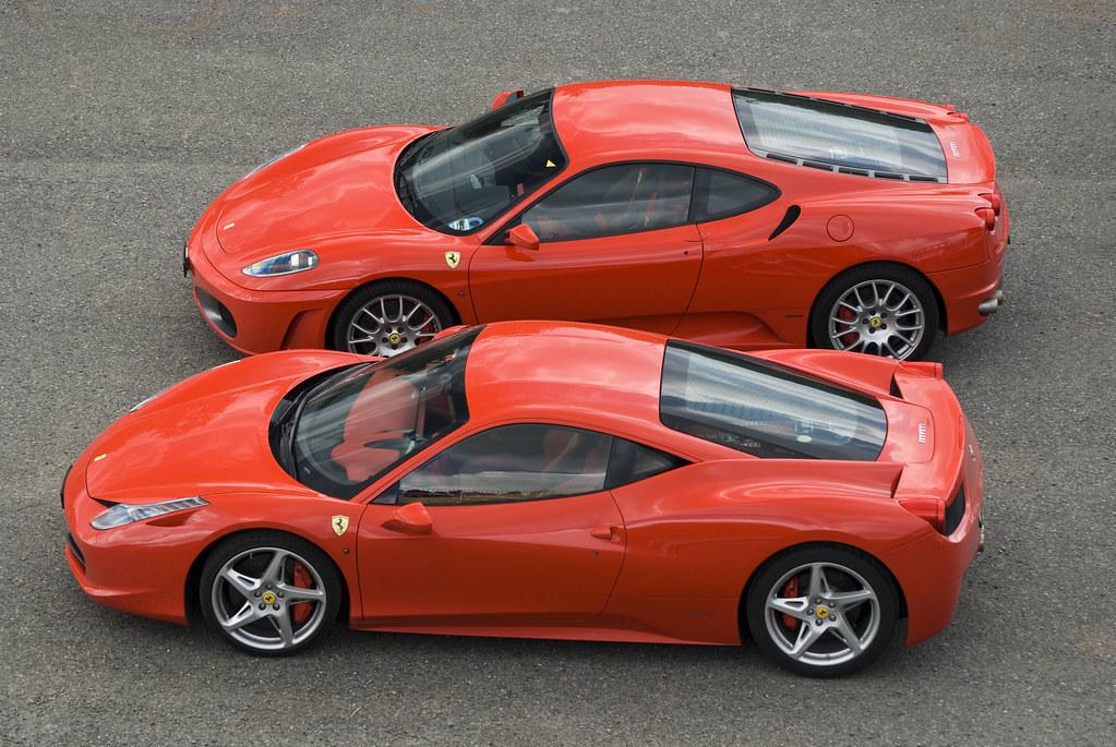 Ferrari F430 Coupe Ferrari 458 Italia My Best Pictures