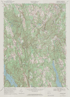 Botsford Quadrangle 1969 - USGS Topographic Map 1:24,000 | by uconnlibrariesmagic