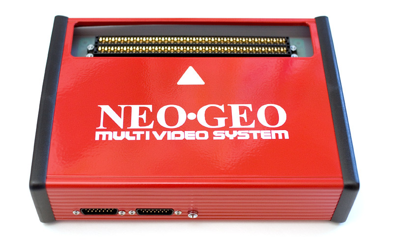 Neogeo Front Home Made Neo Geo Mvs Console Contains A