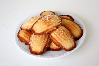 SMS Chestnut Honey Madeleines | by Tracey's Culinary Adventures