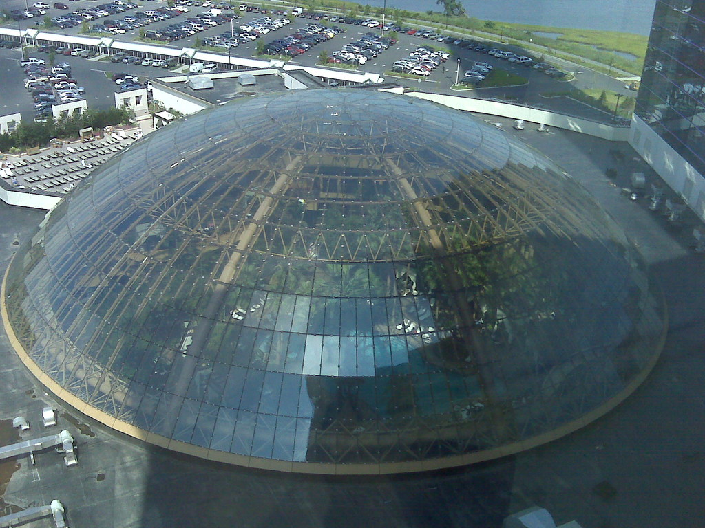 Dome Over Indoor Pool At Harrah 39 S Atlantic City An Impress Flickr