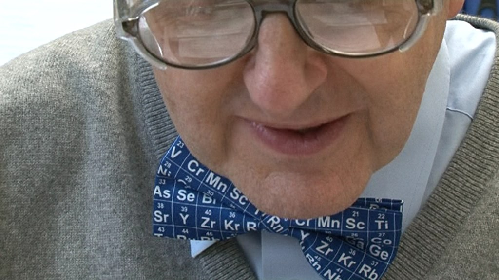 Periodic table bow tie the professor has a new periodic ta flickr periodic table bow tie by periodic videos urtaz Images
