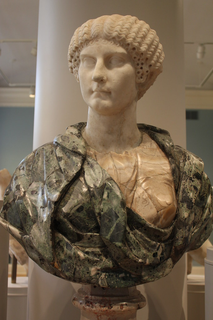 Bust of Agrippina the Younger (ca. 40 CE) | The display ...