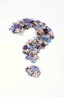 Question mark made of puzzle pieces | by Horia Varlan
