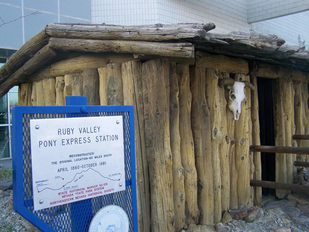 Ruby Valley Pony Express Station Elko Nv 1 Nrhp