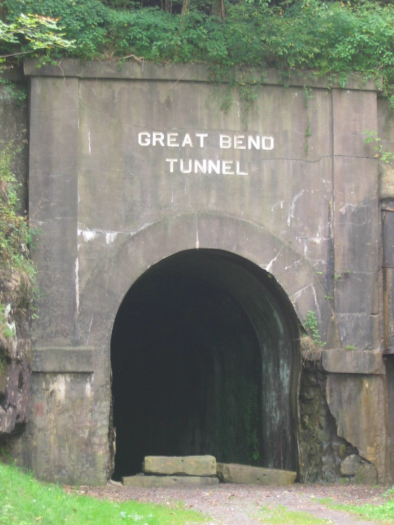 Talcott West Virginia: Summers County: Great Bend Tunnel