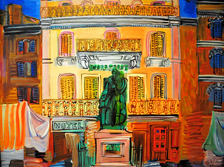 Raoul Dufy - Hotel Sube at the Phillips Collection Art Gallery Washington, DC | by mbell1975