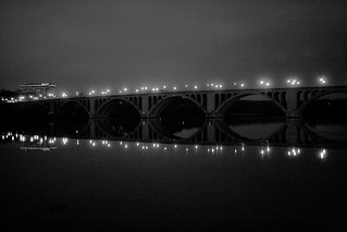 key bridge/marriott bw | by christaki