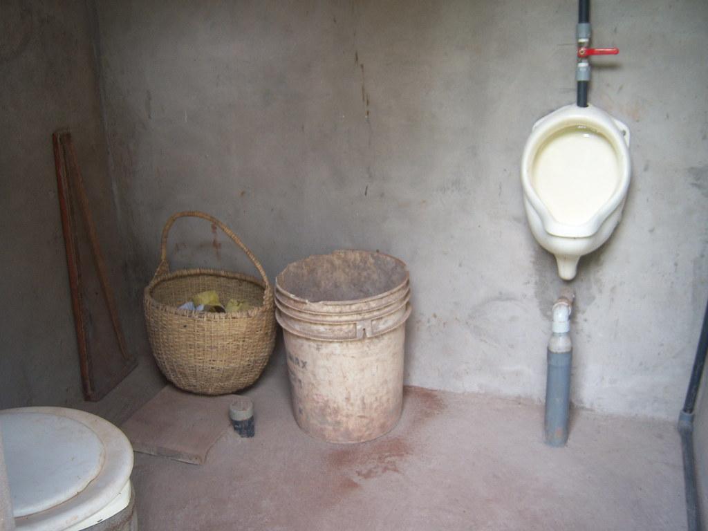 uddt and urinal with basket for toilet paper and ash to dr flickr. Black Bedroom Furniture Sets. Home Design Ideas