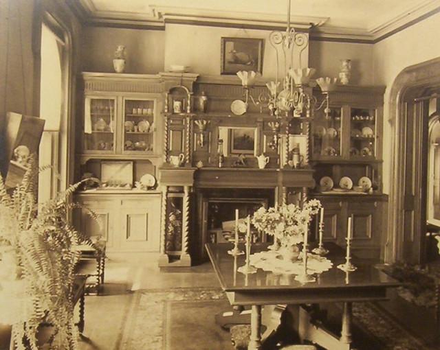 Victorian dining room 1890's   gaswizard   Flickr