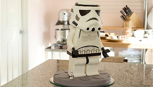 Lego Minifig Stormtrooper Cake By Justino