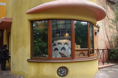 Totoro mans the ticket booth! | by maki