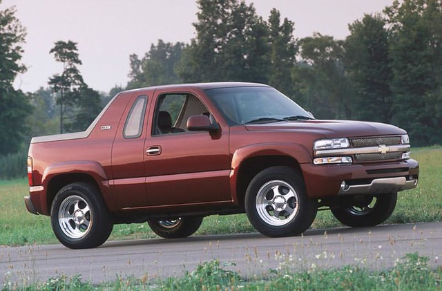 Chevrolet K5 Blazer Concept I Would Love To See These On