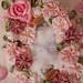Silkie framed in flowers