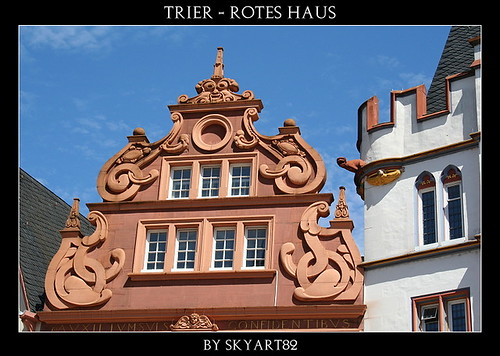 trier rotes haus das rote haus steht in der dietrichstra flickr. Black Bedroom Furniture Sets. Home Design Ideas