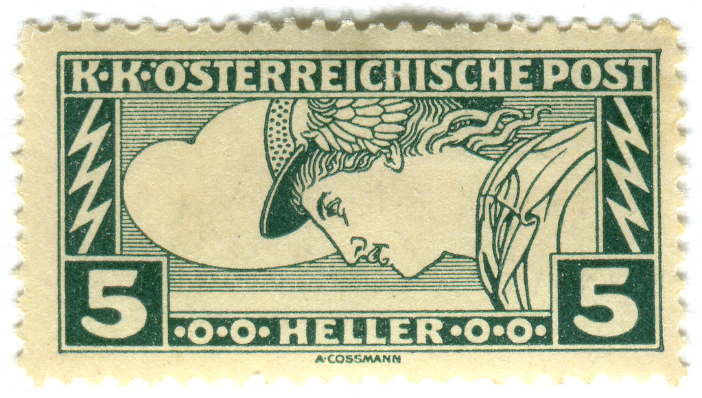 Austria Postage Stamp Heller 5 Green C 1917 Part Of Spe Flickr