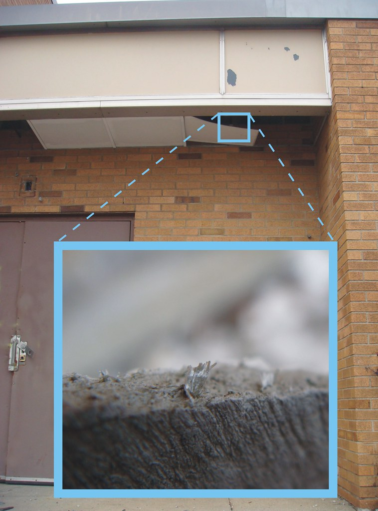 Asbestos Soffit And Facade Asbestos Cement Panels Used