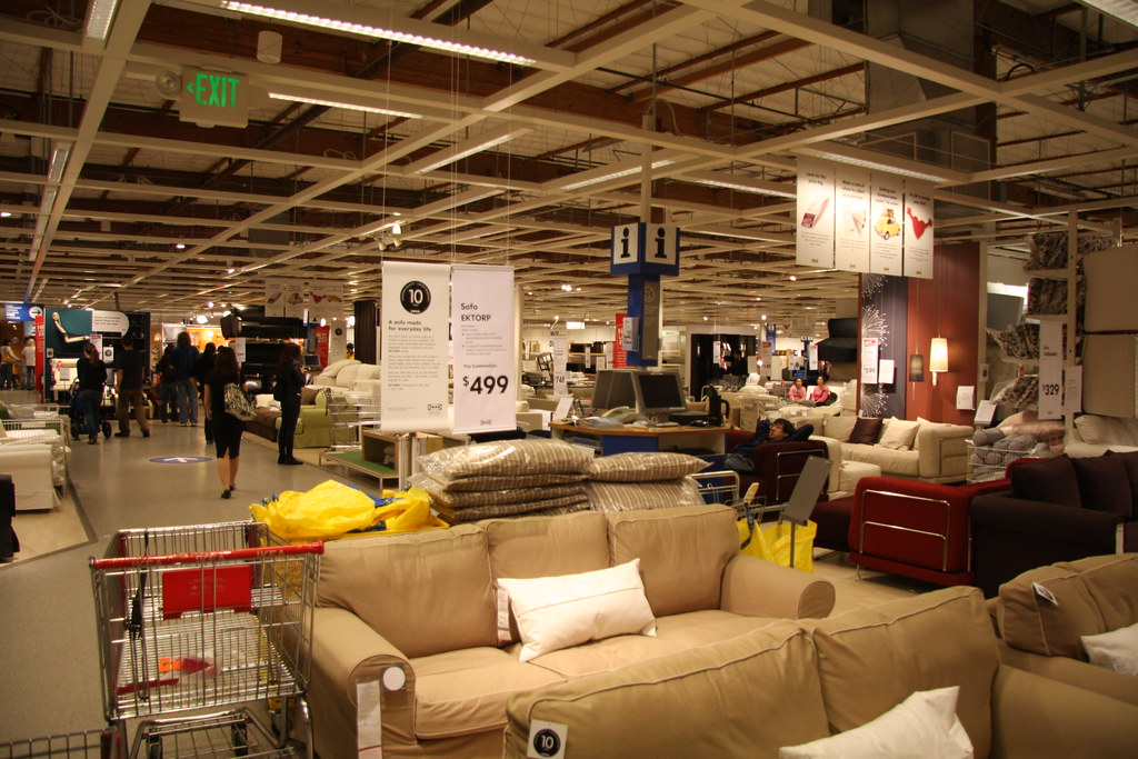 A first glance of ikea renton mall bo call me daniel for Ikea bellevue washington