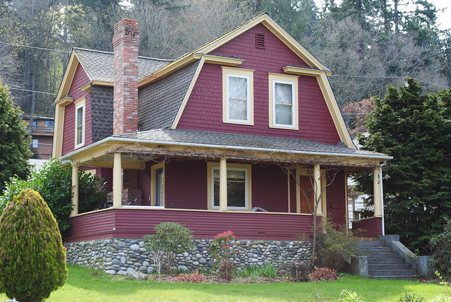 Exterior Color Schemes Red Paint Colors For The Historic House Flickr